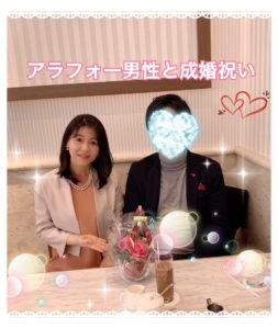 アラフォー三高証券マン男性が、再婚女性とご成婚!